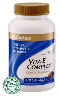 Produk Shaklee untuk vitamin E